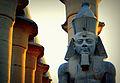 Ramses II in Luxor Temple.jpg