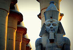 Ramses II in Luxor Temple.jpg