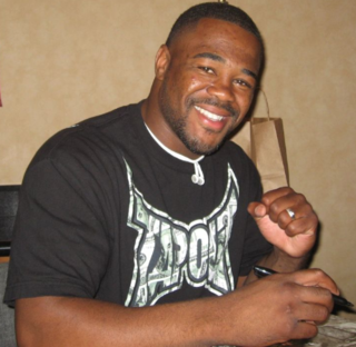 Rashad Evans American mixed martial arts fighter