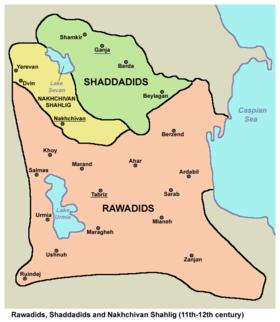 Rawadids shaddadids nakhchivan1.png