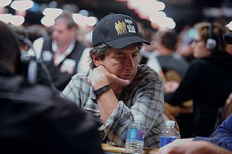 Ray Romano - Romano at the 2010 World Series of Poker main event