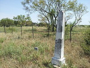 Red River Station, Texas - Image: Red River Station Cemetery 2