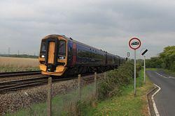 Redbridge - FGW 158953 Portsmouth service.JPG