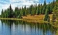 Reflection, Lake Irene, CO 8-12 (14592936968).jpg