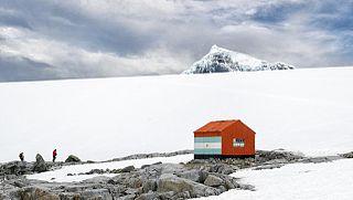 Dorian Bay Refuge in Argentina