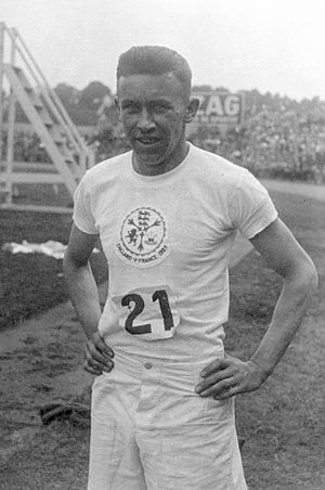Reg Thomas (athlete) - Reginald Thomas in 1929