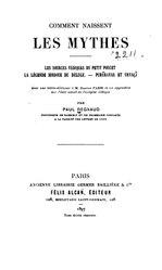 Paul Regnaud: Comment naissent les mythes