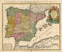 Spaniens Autonome Regioner Wikipedia S Spaniens Autonoma