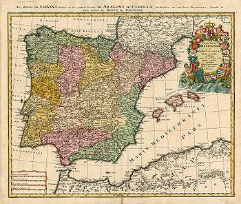 Mapa España Siglo Xv.Formacion Territorial De Espana Wikipedia La Enciclopedia