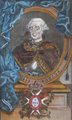 Rei D. Pedro III - gravura aguarelada sobre papel, Portuguesa do séc. XVIII (2.ª metade).png