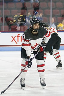 Renata Fast Canadian ice hockey player (1994-)