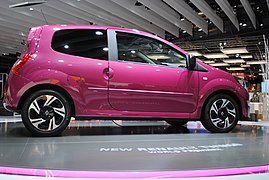 Renault Twingo at the Frankfurt Motor Show IAA 2011 (6147347641).jpg