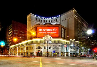 Rendezvous Hotel Singapore - The Rendezvous Hotel Singapore when it was known as the Rendezvous Grand Hotel Singapore