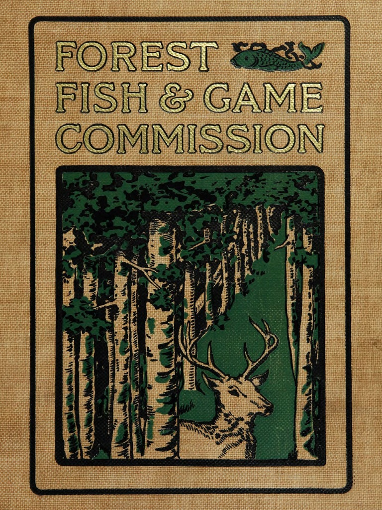 File:Report of the Forest, Fish and Game Commission (1900 ...