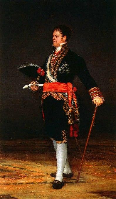 Retrato del Duque de San Carlos