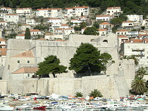 Ravelin - In 16th century Revelin Fortress became the strongest city fortress within Walls of Dubrovnik in Croatia.