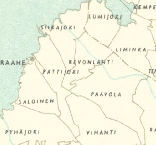 Maaseutupoliittiset Tavoitteet Raahen Kaupungin Keskustaajaman