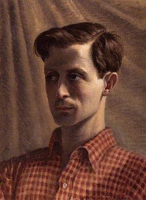 Rex Whistler - Image: Rex Whistler Self Portrait 1934