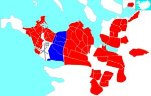Hlíðar - Image: Reykjavík map (D03 Hlíðar)