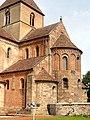Rheinmünster, Klosterkirche Schwarzach, Teilansicht von Südosten 1.jpg