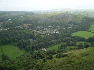 Rhyd y Foel Human settlement in Wales
