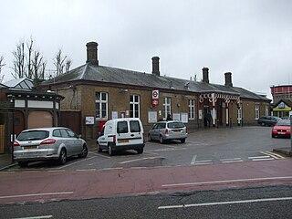 Rickmansworth station London Underground and Chiltern Railways station