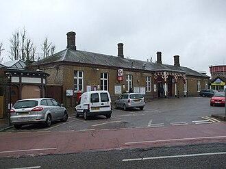 Rickmansworth station - Image: Rickmansworth station building