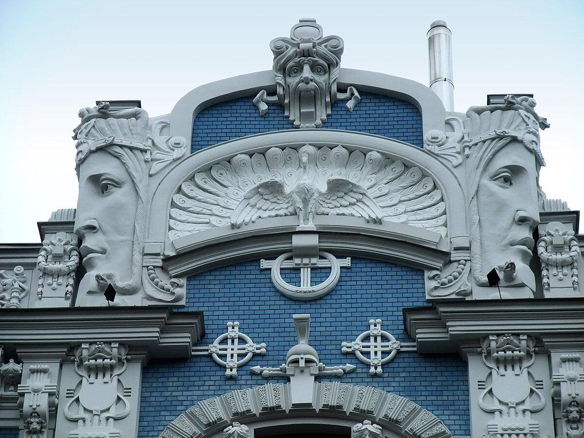 Art nouveau riga wikip dia - Art nouveau architecture de barcelone revisitee ...