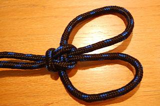 Rigid double splayed loop in the bight