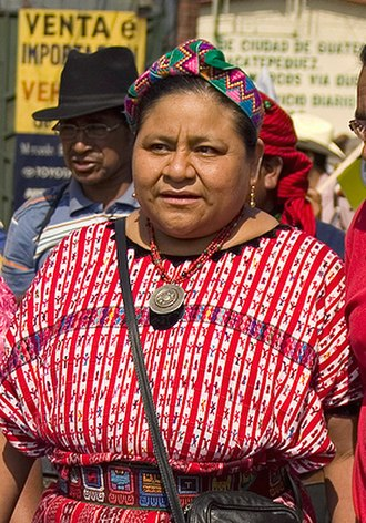 Ethnic groups in Central America - Rigoberta Menchú K'iche'-Guatemalan