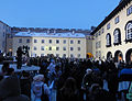 Riigikogu courtyard during meeting for Independence (7954249348).jpg