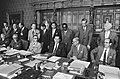 Rijksministerraad bijeen met nieuwe kabinet Biesheuvel, Den Haag , zittend v.l.n, Bestanddeelnr 924-7174.jpg