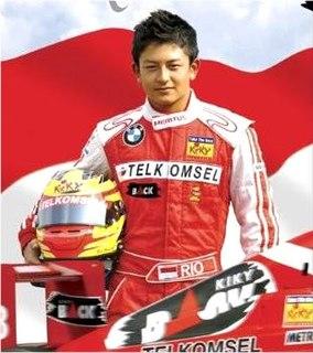 Indonesian racing driver