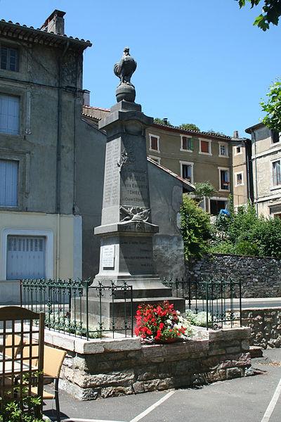 Riols (Hérault) - monument aux morts.