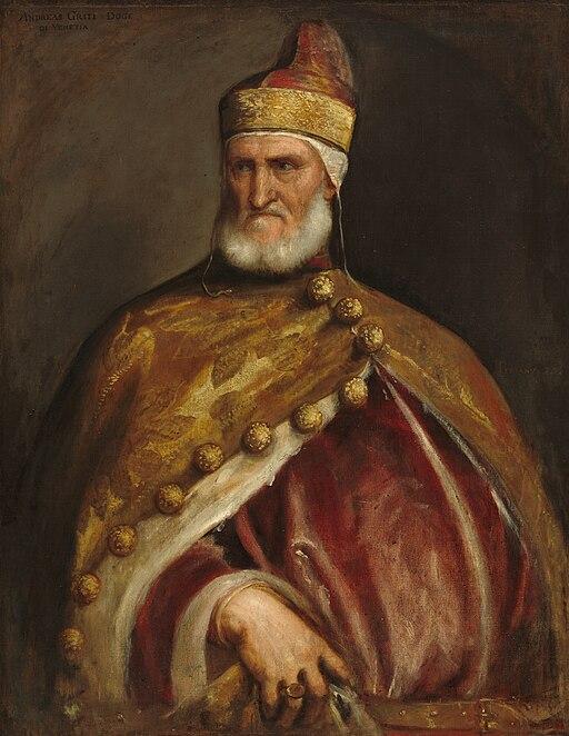 Ritratto del Doge Andrea Gritti - Tiziano 059