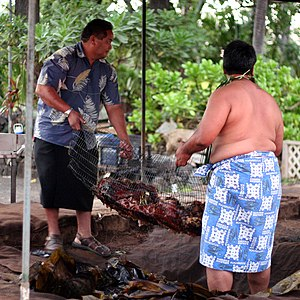 Kalua - Roasted pua'a