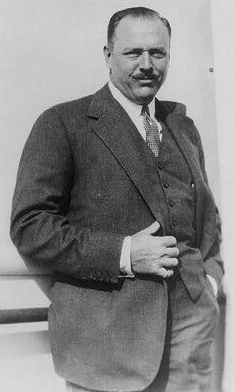 Boston Brahmin - U.S. Congressman and lawyer, Robert L. Bacon