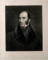 Robert Liston. Mezzotint by J. C. Bromley, 1839, after F. Gr Wellcome V0003623.jpg