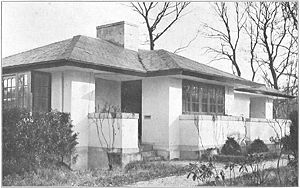 Robert van 't Hoff - Villa Verloop, Huis ter Heide. 1915–1916.