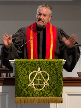 Robin Meyers - Meyers at Mayflower Congregational UCC in September 2015.