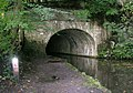 Rochdale Canal Bridge 2 - Hollins Mill Lane, Sowerby Bridge - geograph.org.uk - 989679.jpg