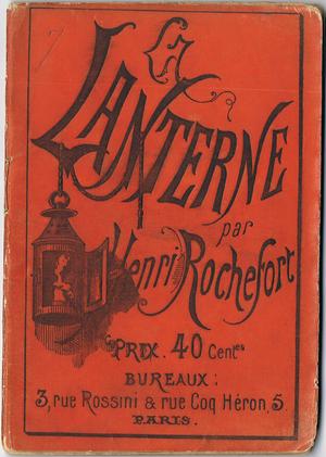 À la lanterne - Image: Rochefort Lanterne Paris
