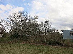 Rock Island, Colorado County, Texas - Image: Rock Island TX Water Tower