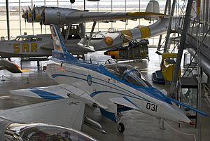 Deutsches Museum Flugwerft Schleissheim - Image: Rockwell MBB X 31 @ Deutsche Museum Flugwerft Schleißheim