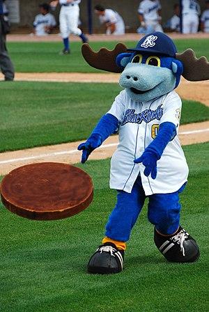 Wilmington Blue Rocks - Rocky Bluewinkle, mascot of the Wilmington Blue Rocks.