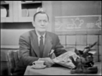 DuMont Television Network - Still from Rocky King, Inside Detective, one of DuMont's most popular programs