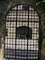 Rodi, museo archeologico, corte ottomana 05 cancello su odos ippodon.JPG