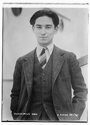 Roger Wolfe Kahn - Kahn circa 1919