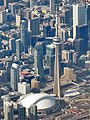 Rogers Centre and CN Tower, Toronto (506142) (26317543735).jpg