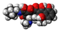 Rolitetracycline 3D spacefill.png